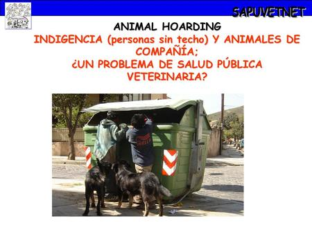 SAPUVETNET ANIMAL HOARDING