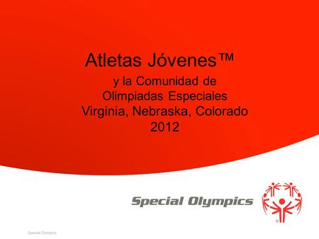 Atletas Jóvenes™ Virginia, Nebraska, Colorado 2012