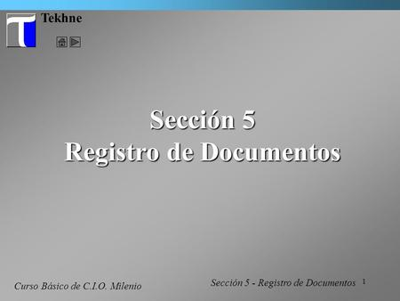 Registro de Documentos