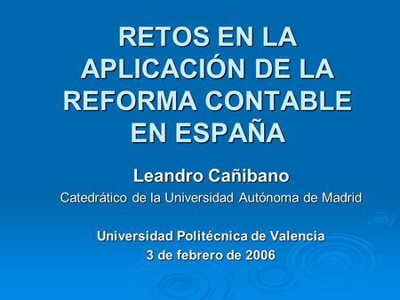 Nuevo plan de contabilidad p blica ppt video online for Universidad de valencia online