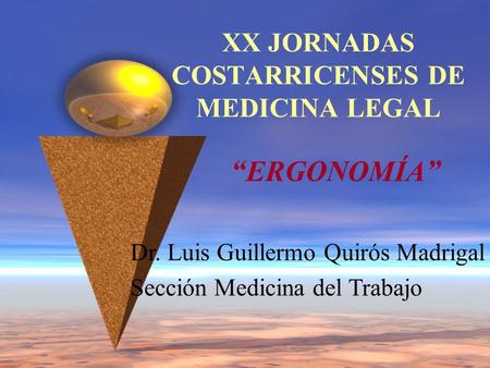 XX JORNADAS COSTARRICENSES DE MEDICINA LEGAL