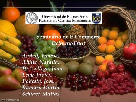 Seminario de E-Commerce