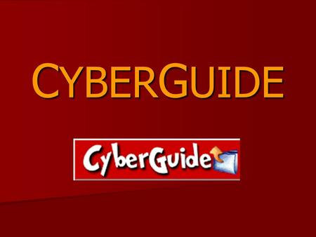 CYBERGUIDE.