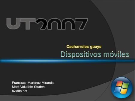 Francisco Martínez Miranda Most Valuable Student oviedo.net.