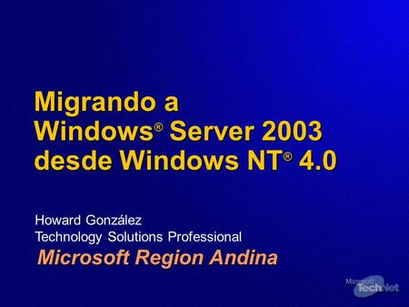 Migrando a Windows® Server 2003 desde Windows NT® 4.0
