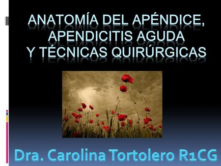 Apendicitis 1ra. causa de Abdomen Agudo no traumático. Smitk. Rozhl Chir. 2009 Aug;88(8):466-8.UK.
