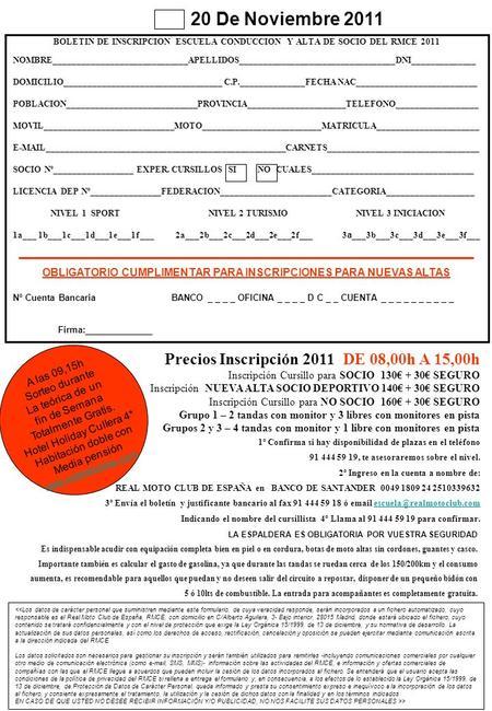 Solicitud de inscripci n enviar a env e una inscripci n for Oficina 1892 banco santander