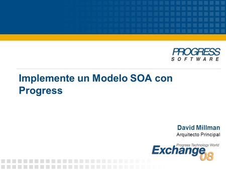 Implemente un Modelo SOA con Progress
