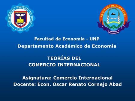 Prof eliana lara fundamentos de comercio internacional for Docente comercio exterior