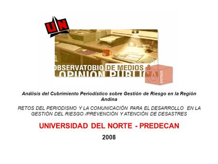 UNIVERSIDAD DEL NORTE - PREDECAN