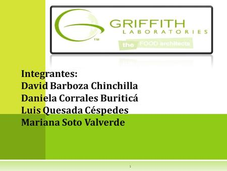 Integrantes: David Barboza Chinchilla Daniela Corrales Buriticá