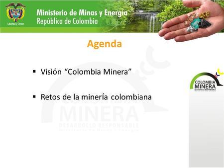 Ministerio de minas y energ a logros sector minero hernan for Ministerio de minas