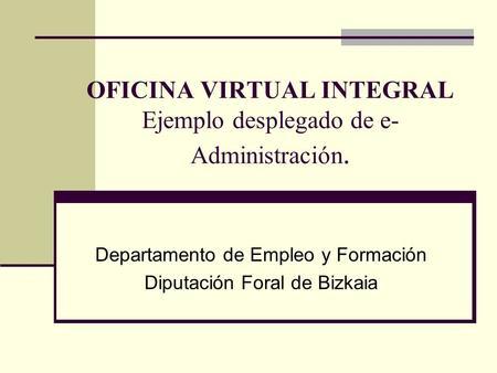 T tulo del documento ministerio de justicia divisi n de for Oficina virtual empleo jccm