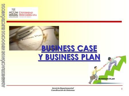 Servicio Departamental Coordinación de Sistemas 1 BUSINESS CASE Y BUSINESS PLAN.