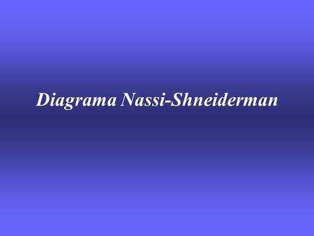 Diagrama Nassi-Shneiderman