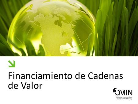 Financiamiento de Cadenas de Valor