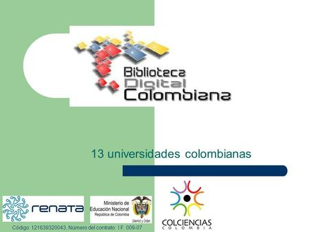 13 universidades colombianas