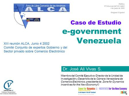 Caso de Estudio e-government Venezuela