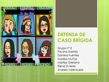 DEFENSA DE CASO BRÍGIDA