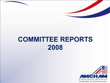 COMMITTEE REPORTS 2008. Chair: Sra. Ana Quirós – Ecoglobal Advisors, S.A. Co-Chair: Sr. Guillermo Herrera, People & Business Consulting CORPORATE SOCIAL.