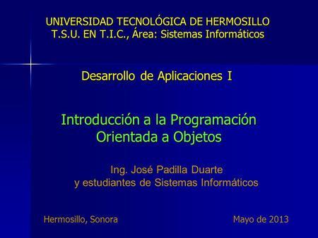 Tema 9 diagrama de clase en uml ppt descargar for Universidades en hermosillo