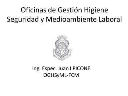 Planes de emergencia fadu uba legislacion decreto 351 79 for Oficina ing zaragoza