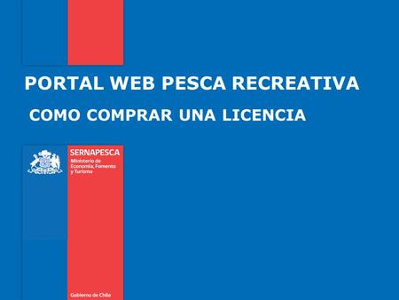 PORTAL WEB PESCA RECREATIVA