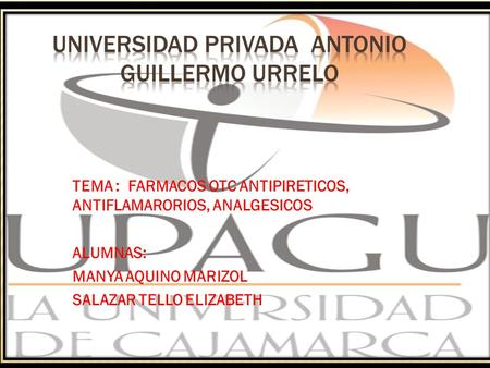 UNIVERSIDAD PRIVADA ANTONIO GUILLERMO URRELO