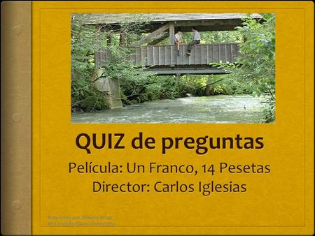 Preparado por Ximena Arias- McLaughlin (Open University)