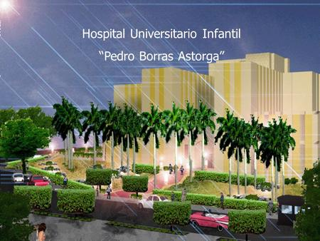 "Hospital Universitario Infantil ""Pedro Borras Astorga"""