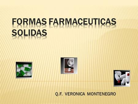 PDF SOLIDAS FORMAS FARMACEUTICAS