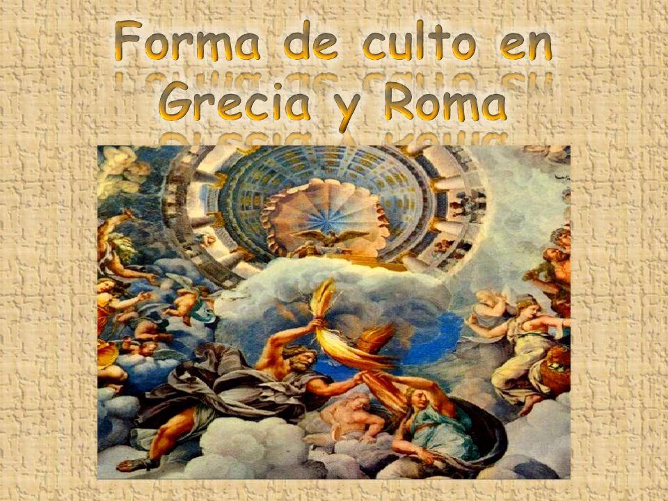 La religión griega era politeísta (creían en varios dioses).