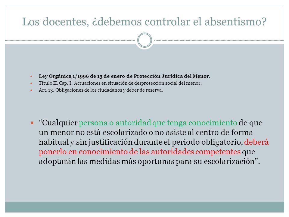 PLAN MARCO DE PREVENCIÓN Y CONTROL DEL ABSENTISMO ESCOLAR ( D.A.T.
