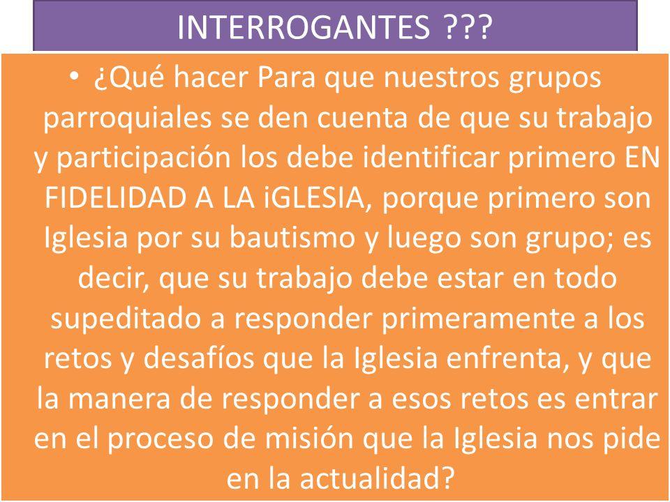 INTERROGANTES ???.