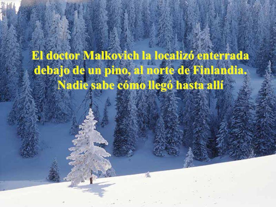 Juan Manuel Real Espinosa Revista de Didáctica MarcoELE Nº2 17 El doctor Malkovich la localizó enterrada debajo de un pino, al norte de Finlandia.