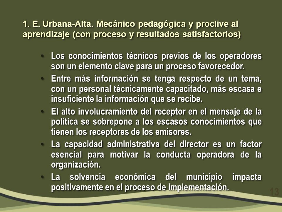 2.E. Urbana- Medio.
