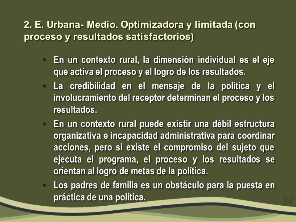 3.E. Urbana-Bajo.