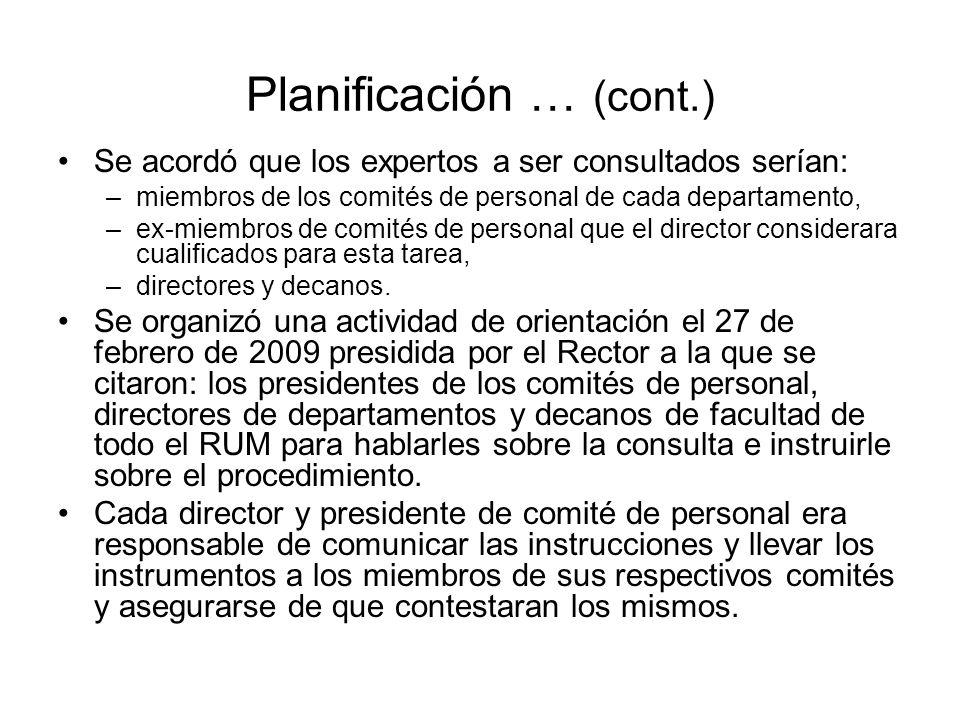 Reestructuración del Plan de Validación a raíz de la Actividad de Orientación En la actividad de orientación (27 de febrero de 2009), los participantes presentaron y avalaron los siguientes cambios: –Que la consulta se hiciera en línea.