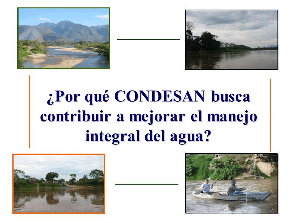 ¿Por qué trabajamos en CONDESAN el tema de la Economía y política del agua.