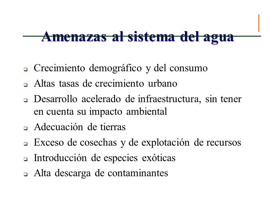 La gobernabilidad del recurso hídrico
