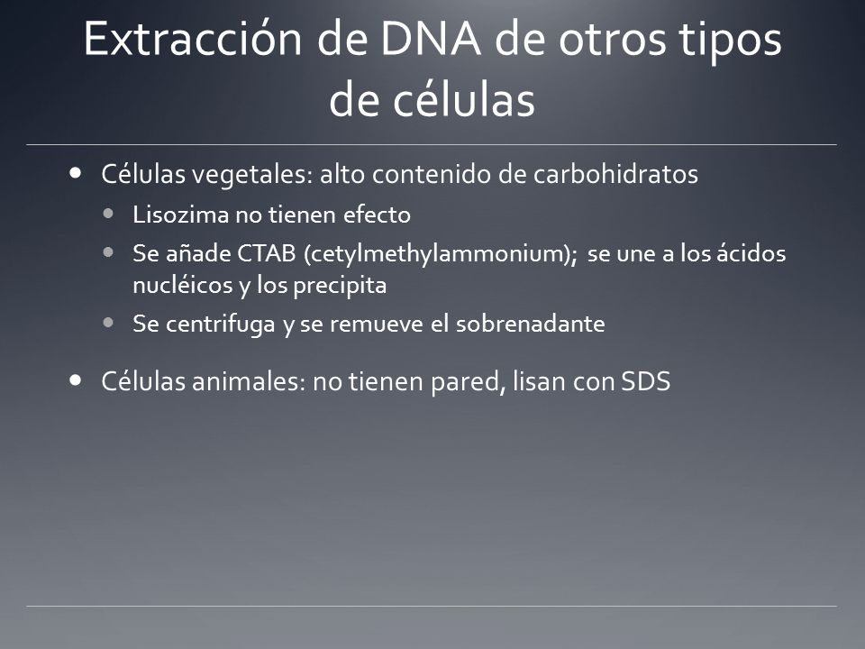 Purification of Plant DNA DNA Purification > Total Cell