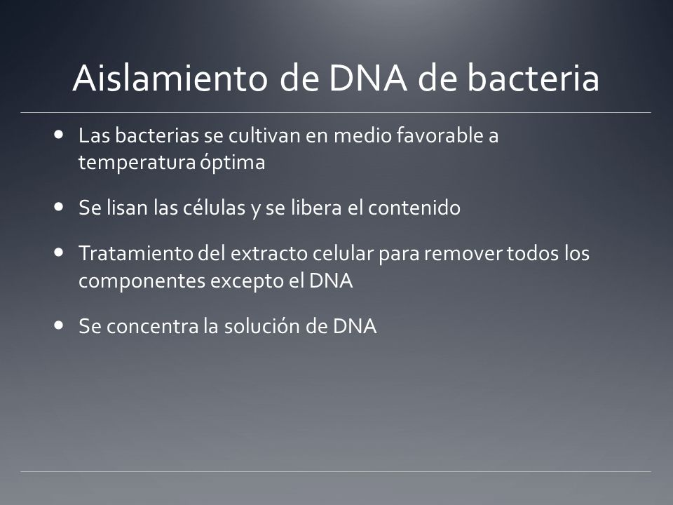 DNA Purification > Total Cell