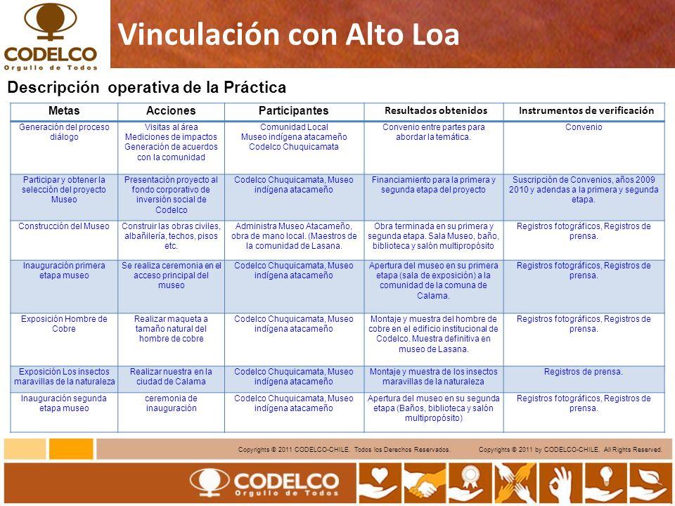 13 Copyrights © 2011 CODELCO-CHILE.Todos los Derechos Reservados.