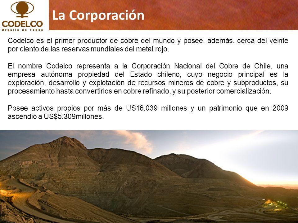 3 Copyrights © 2011 CODELCO-CHILE.Todos los Derechos Reservados.
