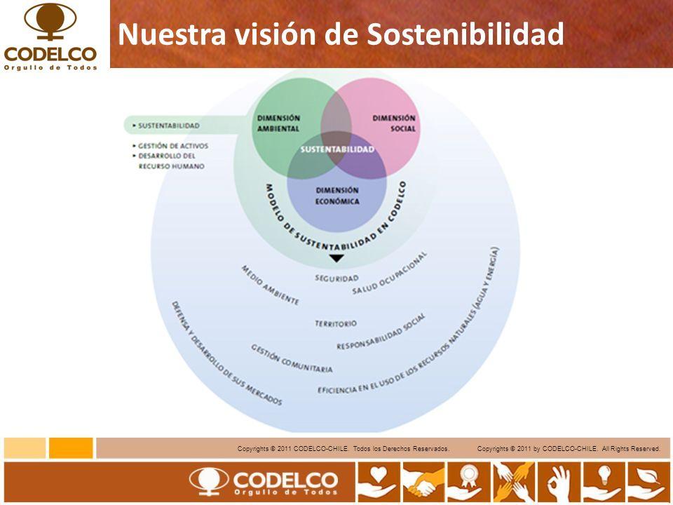 5 Copyrights © 2011 CODELCO-CHILE.Todos los Derechos Reservados.