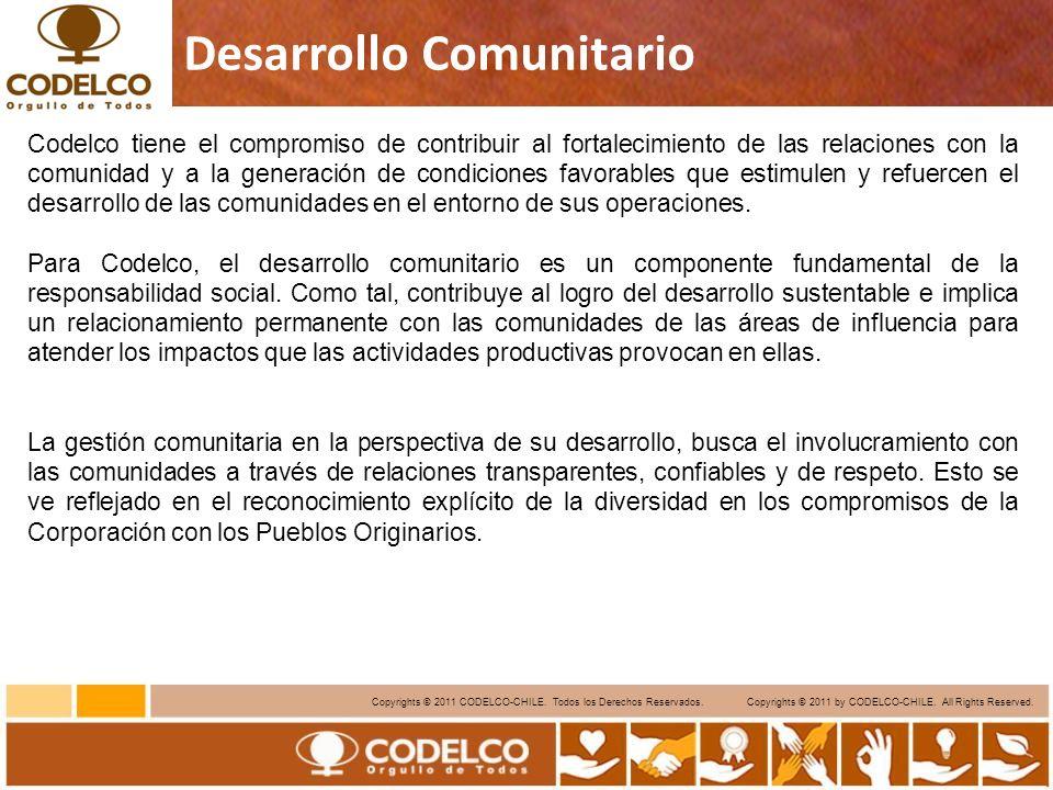 6 Copyrights © 2011 CODELCO-CHILE.Todos los Derechos Reservados.