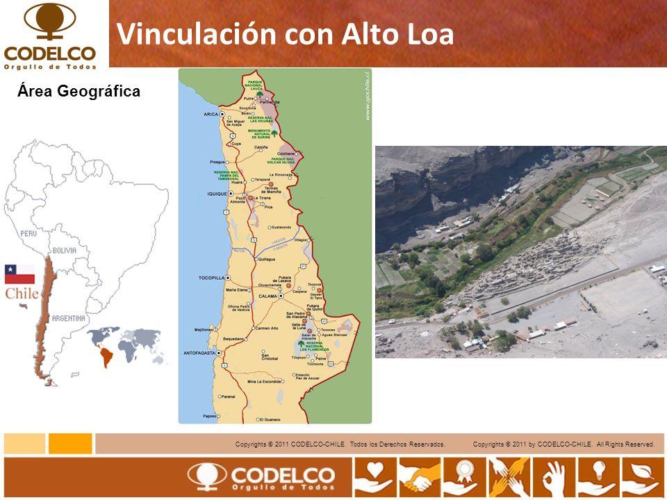 7 Copyrights © 2011 CODELCO-CHILE.Todos los Derechos Reservados.