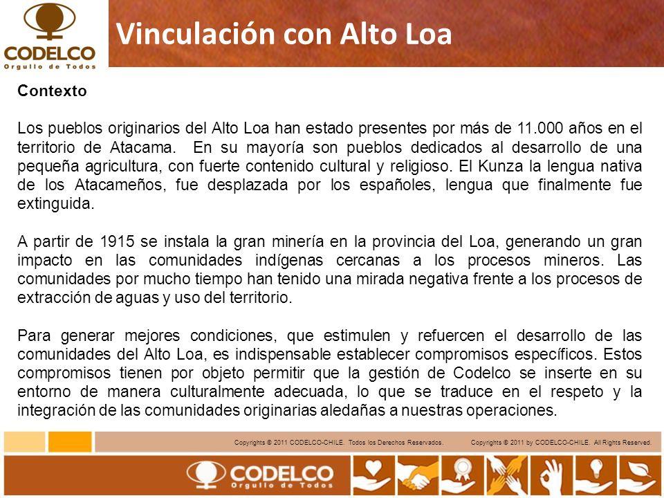 8 Copyrights © 2011 CODELCO-CHILE.Todos los Derechos Reservados.