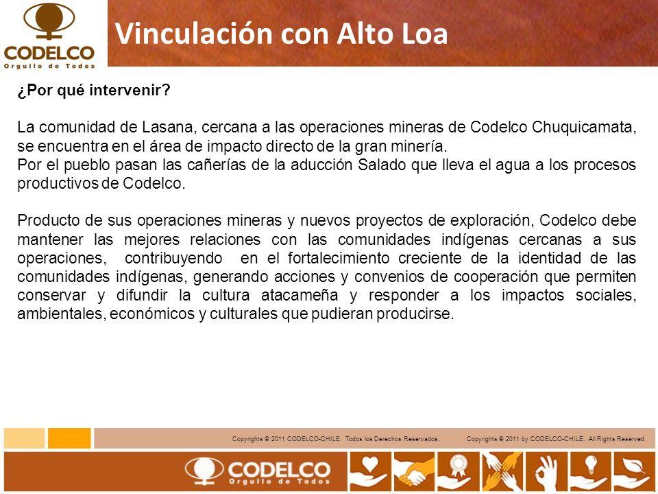 9 Copyrights © 2011 CODELCO-CHILE.Todos los Derechos Reservados.
