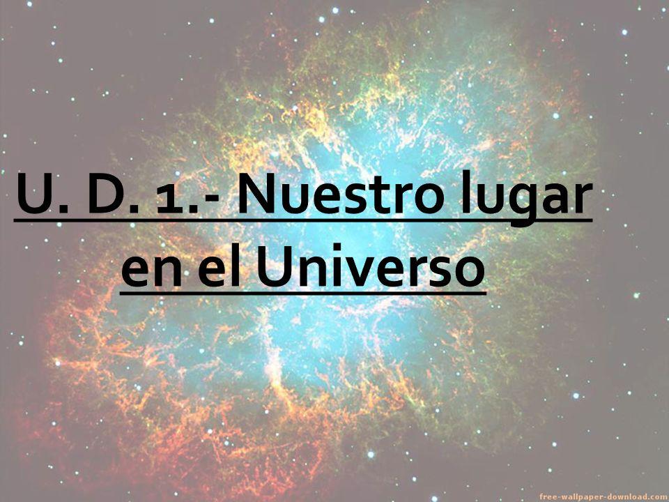 1.- Los primeros astrónomos 2.- La teoría del Big-Bang 4.- Origen y estructura del Universo.